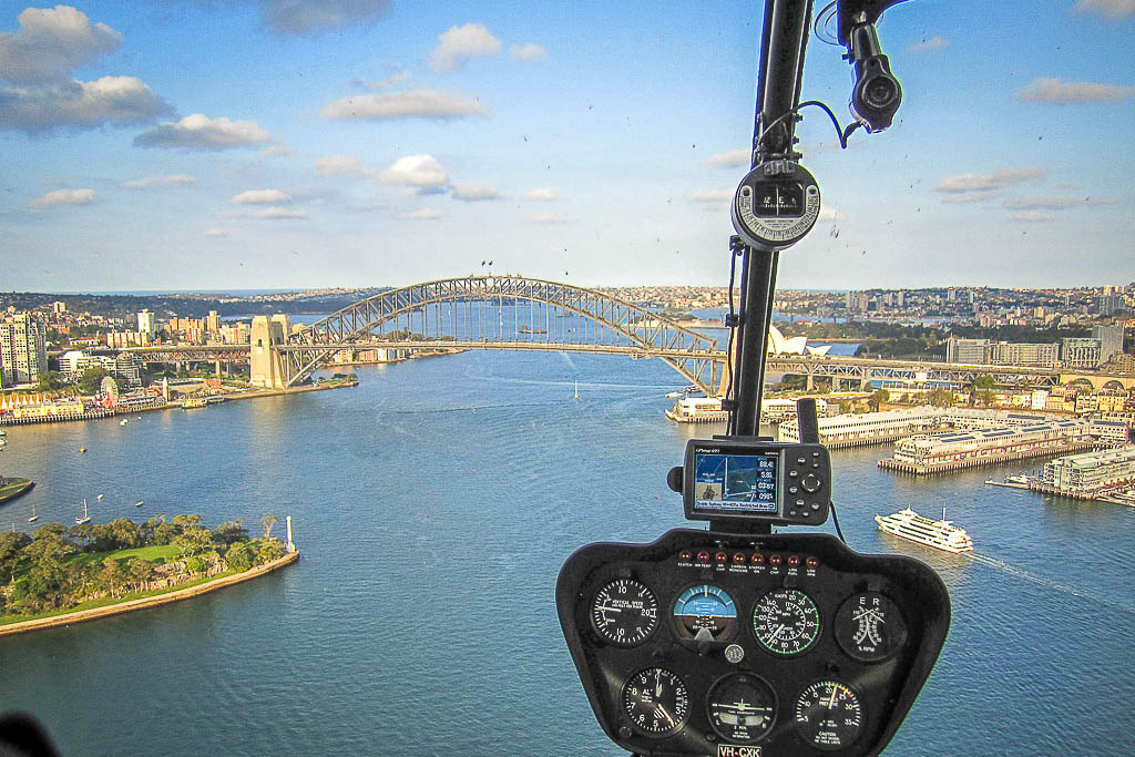 helicopter scenic tour sydney harbour