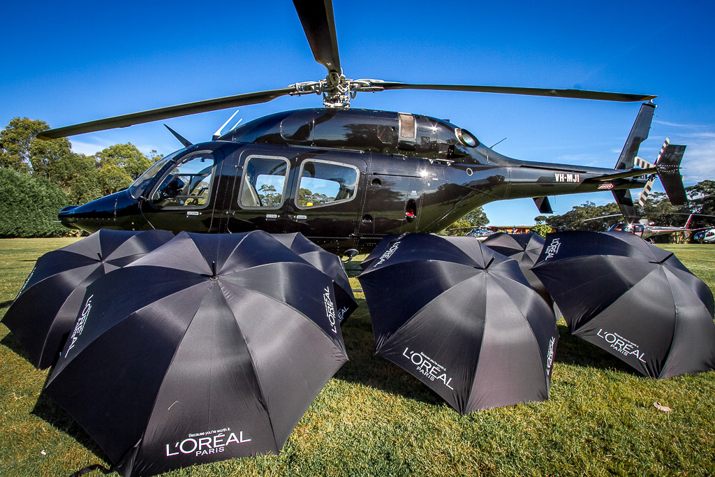 sydney airport helicopter transport for corporate groups and events