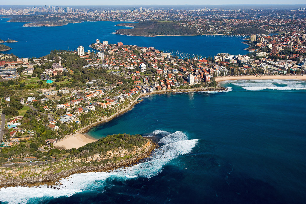 sydney scenic helicopter flight of manly beach and sydney harbour