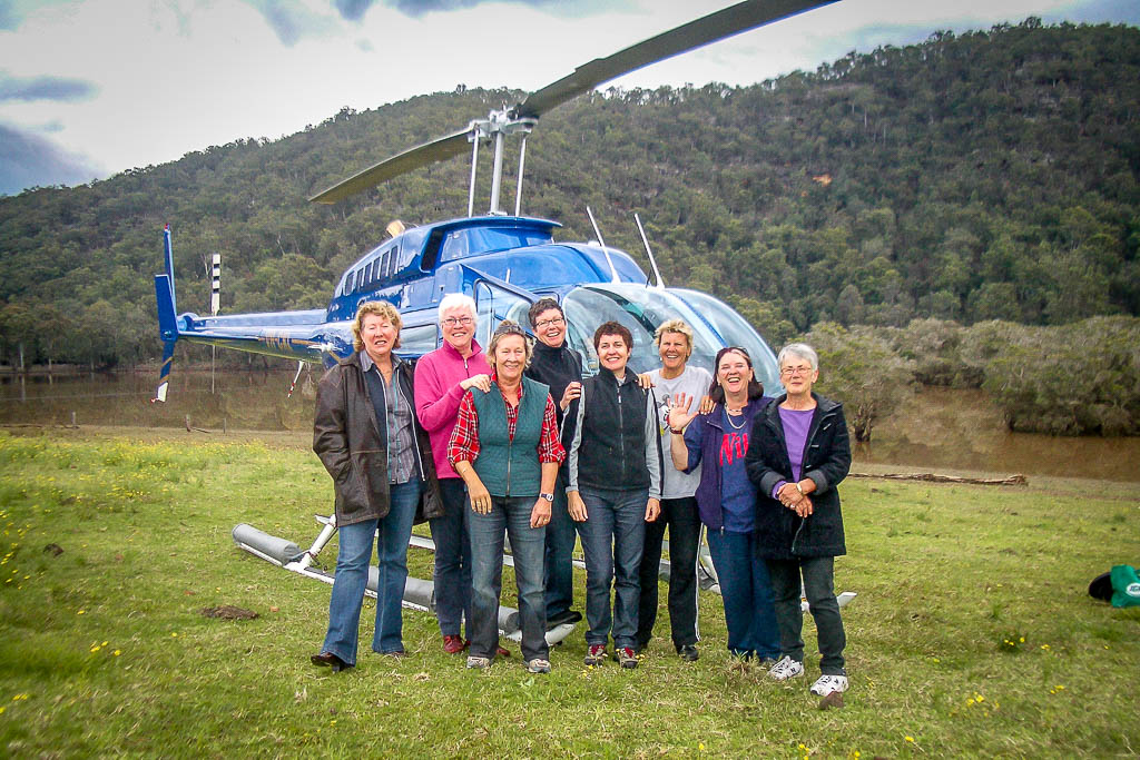group scenic helicopter flight over sydney and sydney harbour