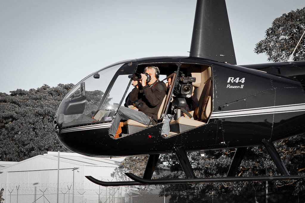 helicopter aerial photography and filming in sydney