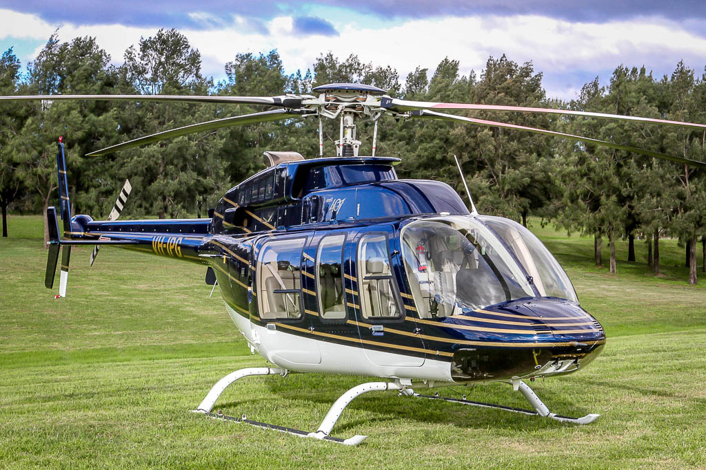 corporate helicopter fleet - bell 407