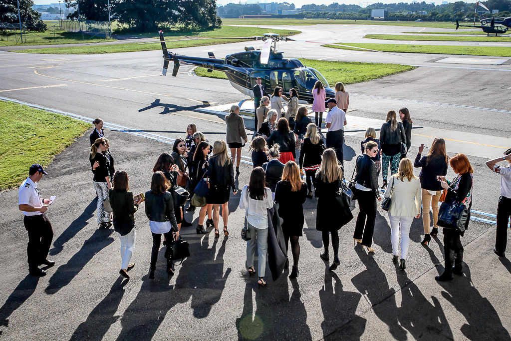 group helicopter transfers and events from sydney airport