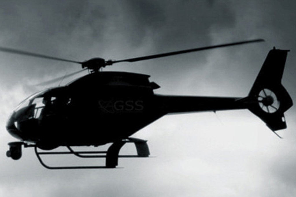 high definition aerial filming helicopter from Sydney Airport