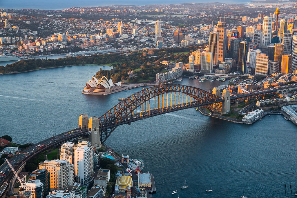 private scenic helicopter flights sydney