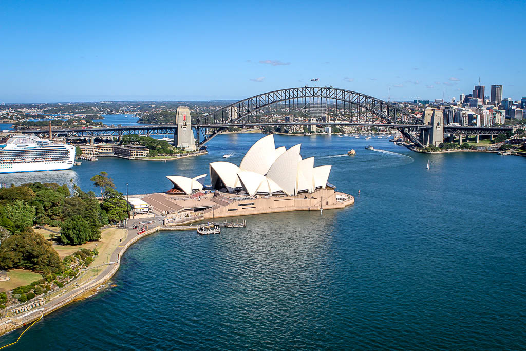 sydney harbour scenic helicopter flights