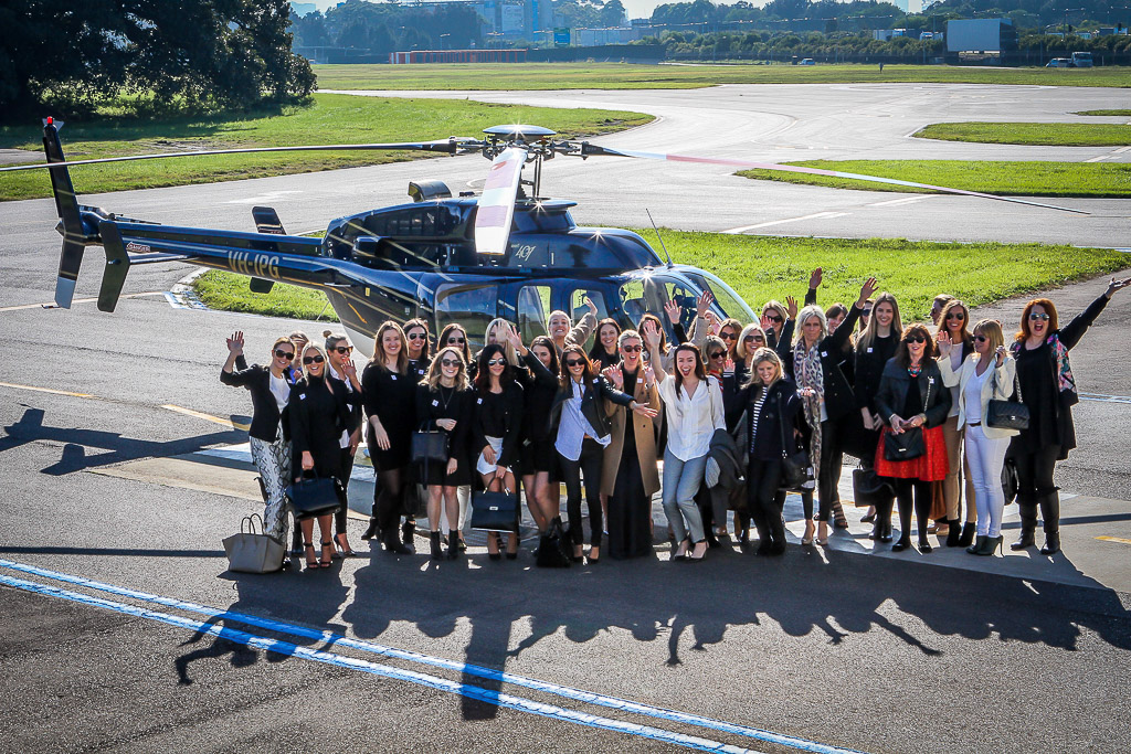 helicopter group transfers and sydney harbour flights