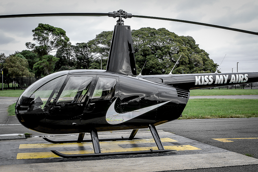 helicopter transport for corporate groups