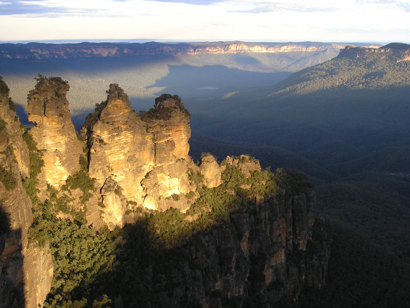 blue mountains scenic helicopter flight from sydney
