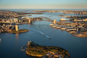 sydney harbour helicopter flights and scenic tours