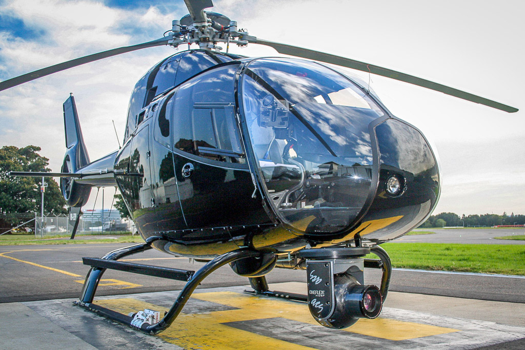 High Definition Aerial Filming Helicopter Sydney Airport