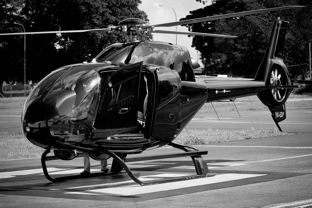 sydney executive helicopter transfers