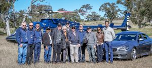helicopter group transfers from sydney