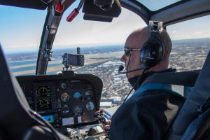safe and experienced helicopter pilots based at Sydney Airport