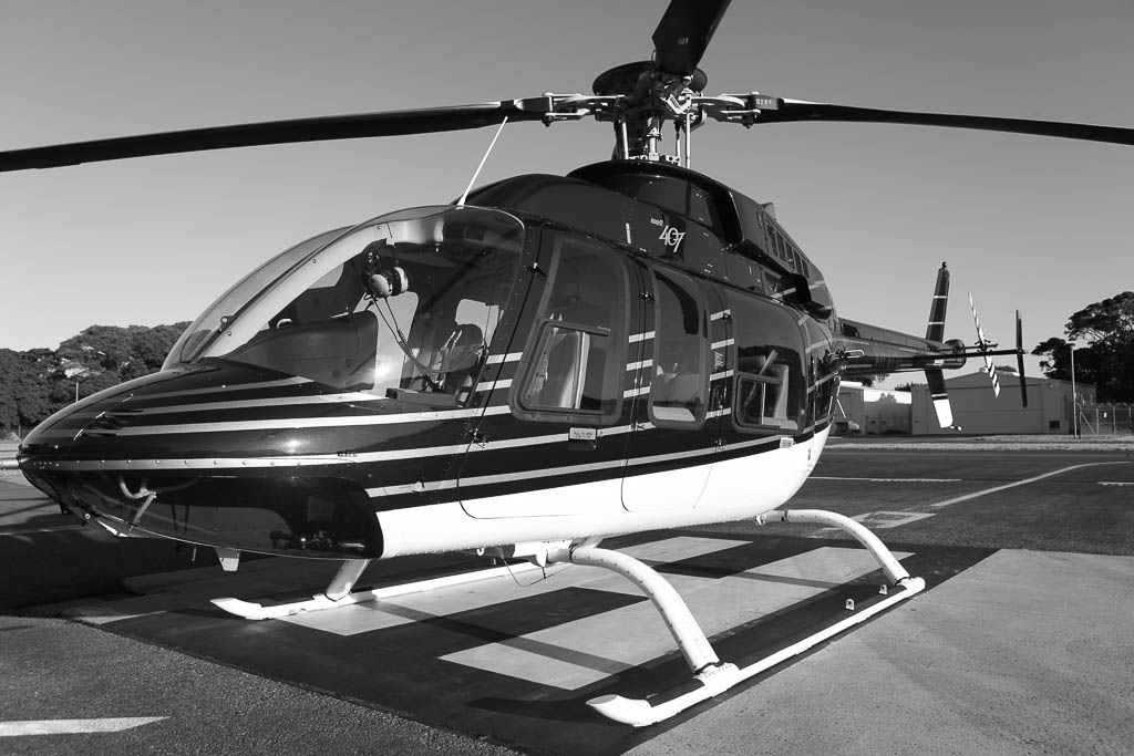Corporate helicopter charter and transfers from Sydney Airport