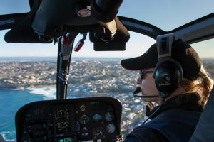 experienced helicopter pilots based at Sydney Airport